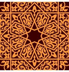 Arabic and islamic seamless ornament vector image