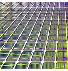 Abstract lattice future technology structure vector