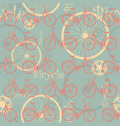 bicycle-list-02 vector image