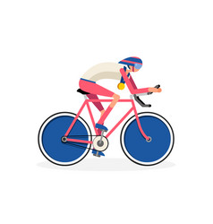 Cyclist symbol vector