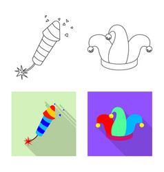 design of party and birthday symbol vector image