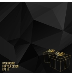gift box Abstract Creative vector image