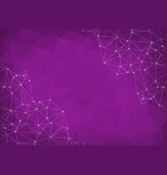Light purple abstract textured polygonal vector