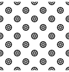 Sprocket for bicycle pattern simple style vector