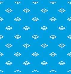 square tap gas pattern seamless blue vector image