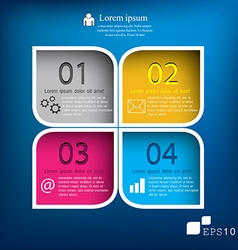 Squares background can be used for workflow vector image