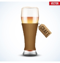 Symbol of Craft Beer vector