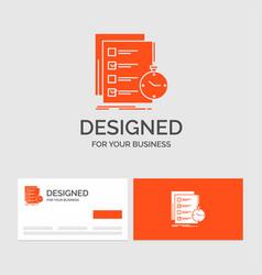 Business logo template for todo task list check vector