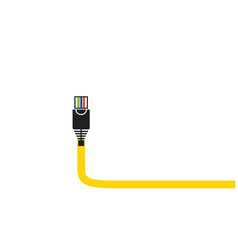 Cable icon vector