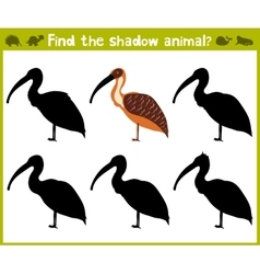 Educational game for children of kindergarten and vector