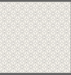 pattern of triangular geometric shapes vector image