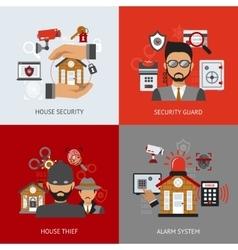 Security Design Concept vector
