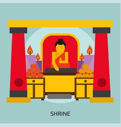 Shrine conceptual design vector