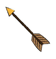 Business arrow tag success symbol vector