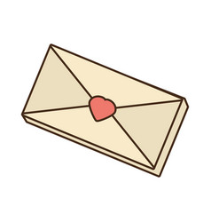Envelope mail message love vector