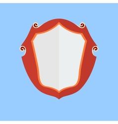 Vintage shield icon vector