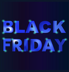 black friday slace template black friday vector image