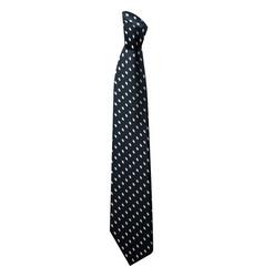 elegant black tie icon isometric style vector image