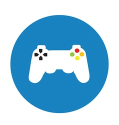 Game pad vector image