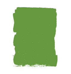 green painted banner vector image
