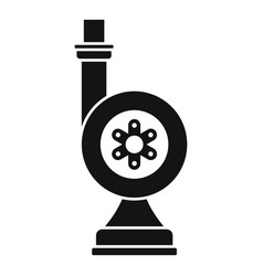 irrigation turbine icon simple style vector image