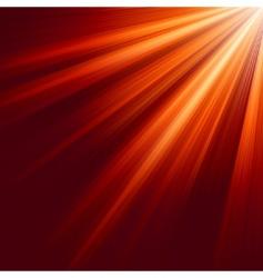 luminous rays background vector image