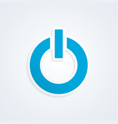 Power icon vector
