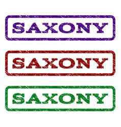 saxony watermark stamp vector image