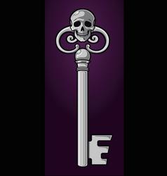skeleton key vector image