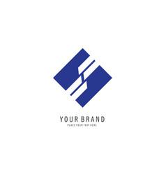 Square finance logo vector