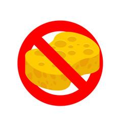 stop sponge it is forbidden to rub with sponge vector image