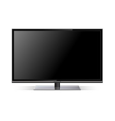 tv lcd tv realistic vector image