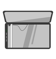 icon of scanner machine vector image