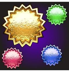 award set vector image vector image