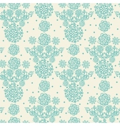 floral in vintage style vector image