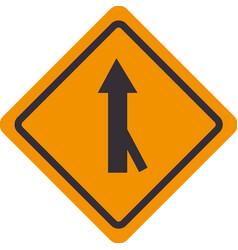 traffic signal road arrow design vector image