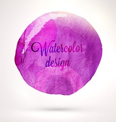 Abstract Watercolor Design vector