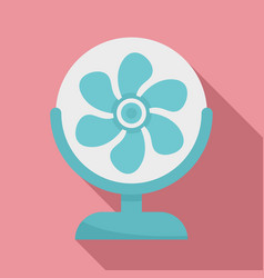 air home fan icon flat style vector image