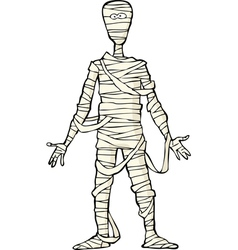 Ancient egyptian mummy vector