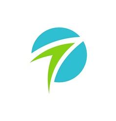 arrow business abstract logo vector image