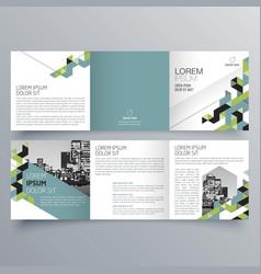 brochure design 576 vector image