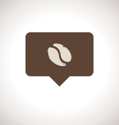 Coffee Shop Notification Icon vector