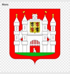 Emblem of mons vector