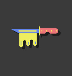 Flat icon design collection beyond army knife vector