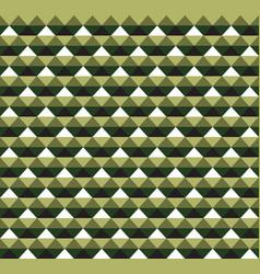 green hawaiian tribal seamless pattern vector image