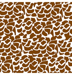 pattern of animal print vector image