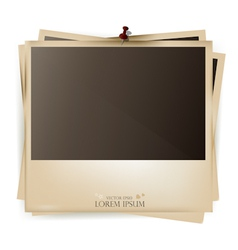 Photo Slides Frame vector image