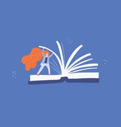 Reading flat vector