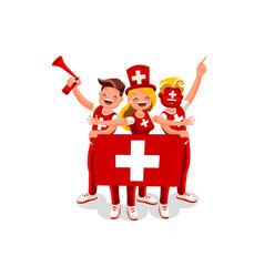 Swiss people vector