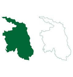 West godavari district andhra pradesh state vector